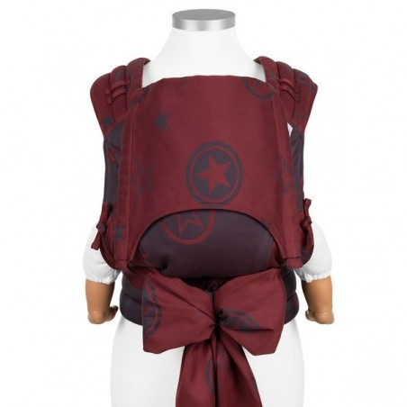 Nosič Fidella Fly Tai Outer Space - ruby red