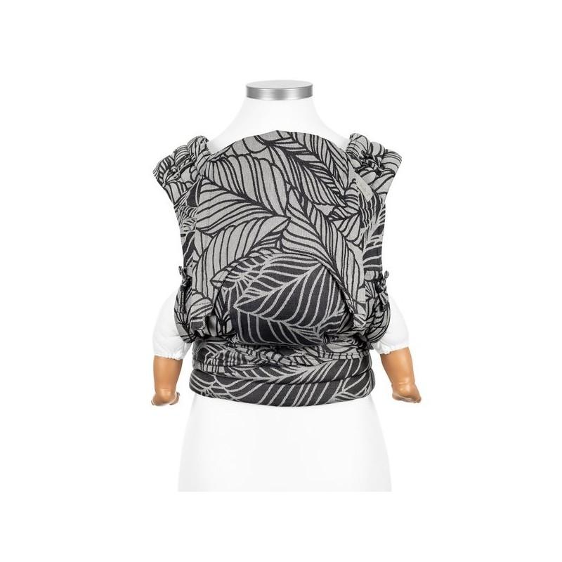 Nosič Fidella Fly Tai Dancing Leaves - black & white