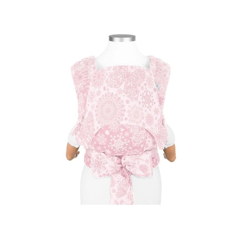 Nosič Fidella Fly Tai Iced Butterfly - pale pink