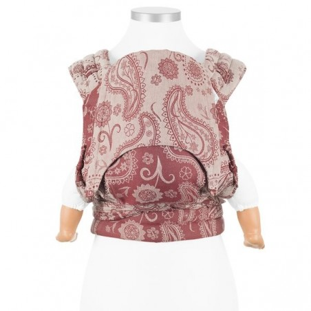 Nosič Fidella Fly Tai Persian Paisley - ruby red