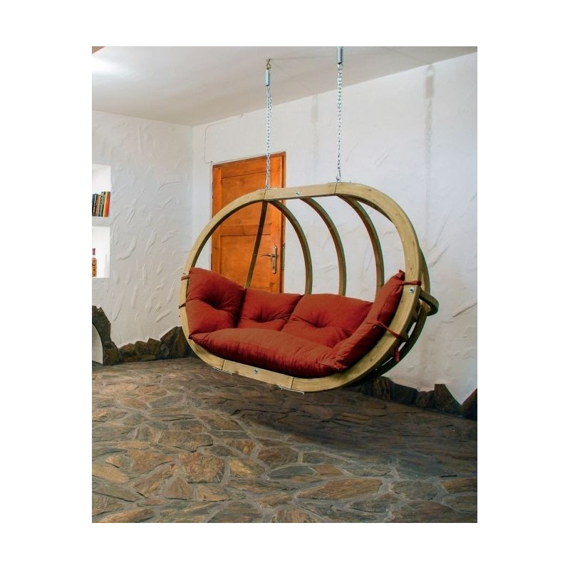 Globo royal chair terracotta