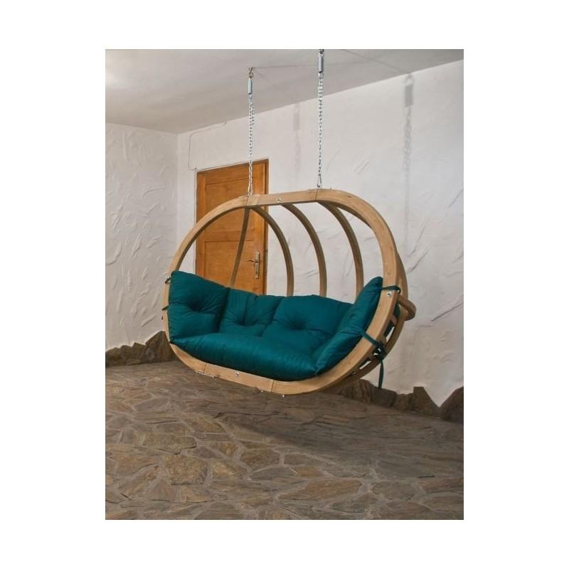 Globo royal chair green