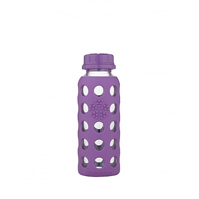 Fľaša Lifefactory detská 250 ml (klasický uzáver)