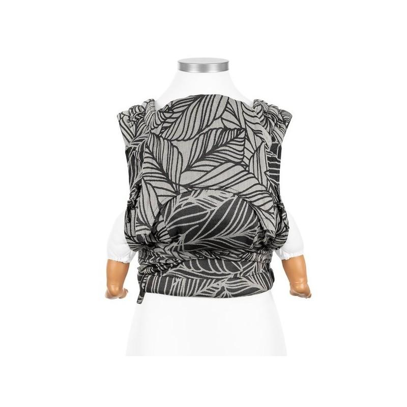 Nosič Fidella FlyClick Dancing Leaves Black & White