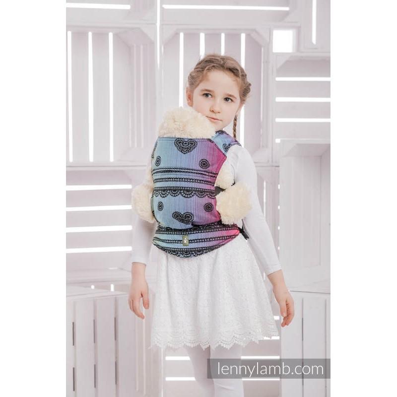 Nosič pre bábiky Lenny Lamb Dark Rainbow Lace