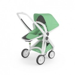 Kočík Greentom Reversible (biely podvozok)