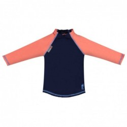 Pop in tričko Navy/Coral