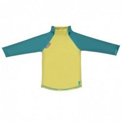 Pop in tričko Mustard/Teal