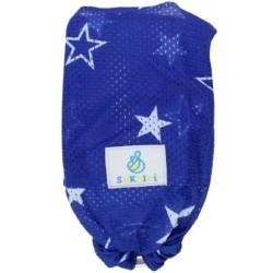 Sukkiri vodný ring sling modrý s hviezdami