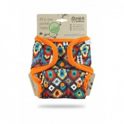 Petit Lulu kapsové plienky AIO na patentky