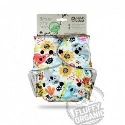 Petit Lulu nohavičková plienka Fluffy na patentky