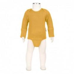 Manymonths body-tričko merino Golden Oat