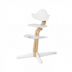 NOMI detská rastúca stolička - Basic white oak