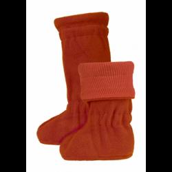 Merino topánočky Winter Rooibos Red