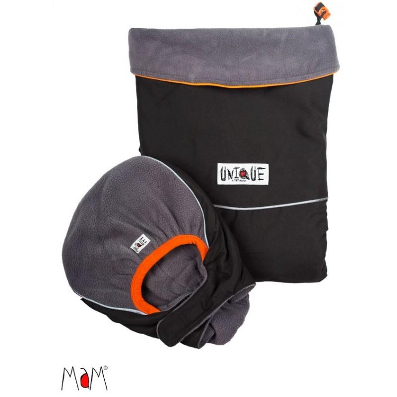 MaM ochranná kapsa DELUXE Unique šedá - reflexné prvky