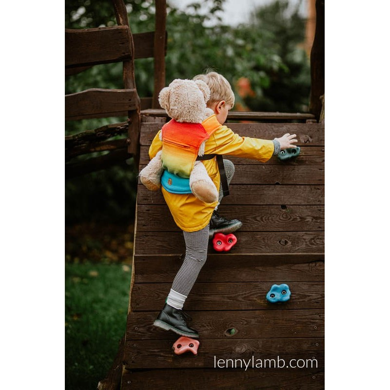 Nosič pre bábiky Lenny Lamb Rainbow Baby