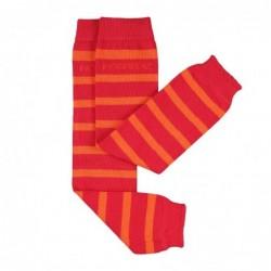Návleky Hoppediz pruhy červeno-oranžové